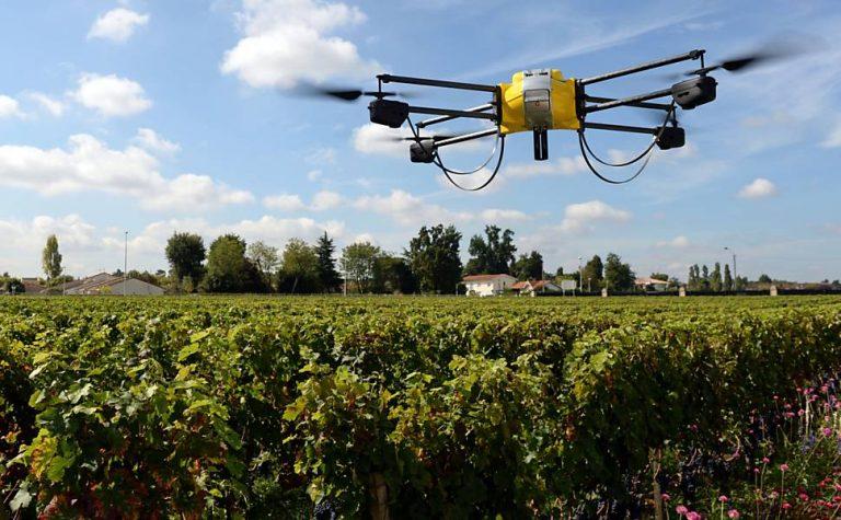 Drone in Farming