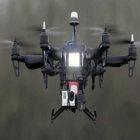 Drones Used for Crowd Surveillance