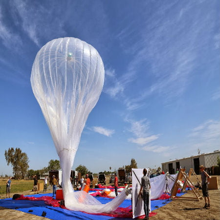 Google Project Loon Balloon Crashes in Chile