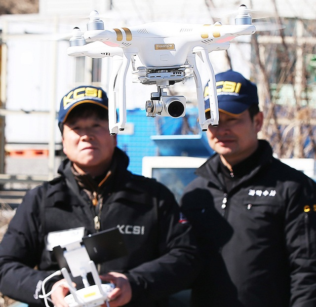 Police Drone - 12 Year-Old Boy Locates A Police Drone
