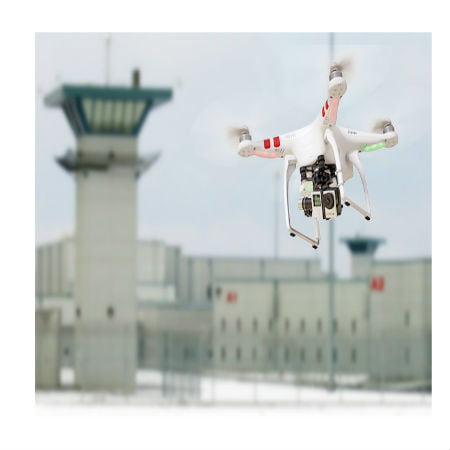 Drone Bring In Supplies to Prison