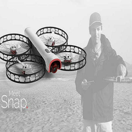 Snap Drone Is Designed for Crash Landings