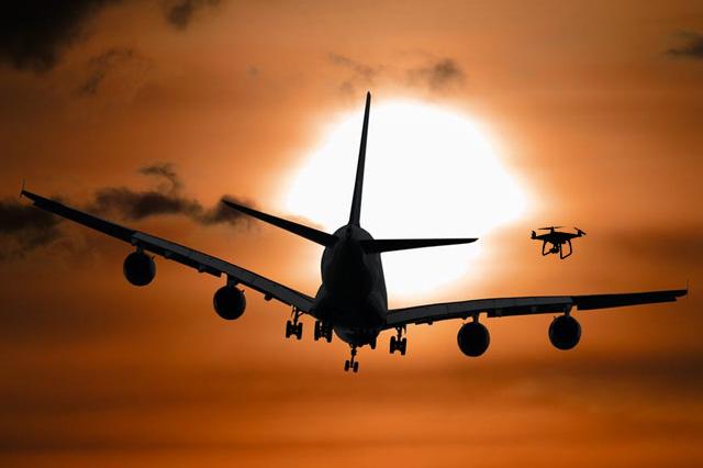 Drone-Caused Plane Crash
