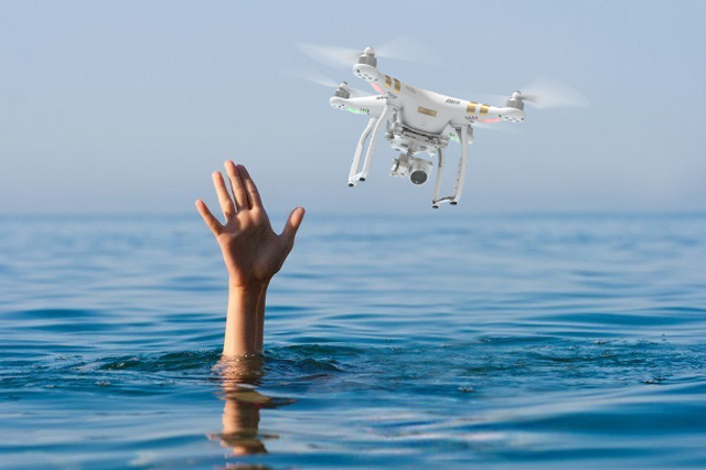 Drone Crash in Water