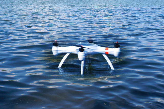 Insect-Inspired Flotation System for Drones