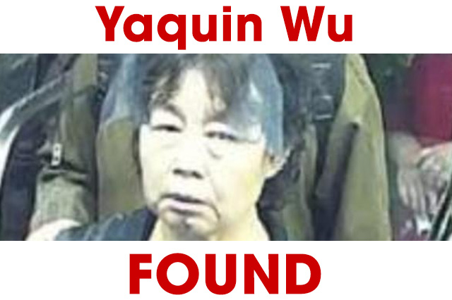 Found chinese woman