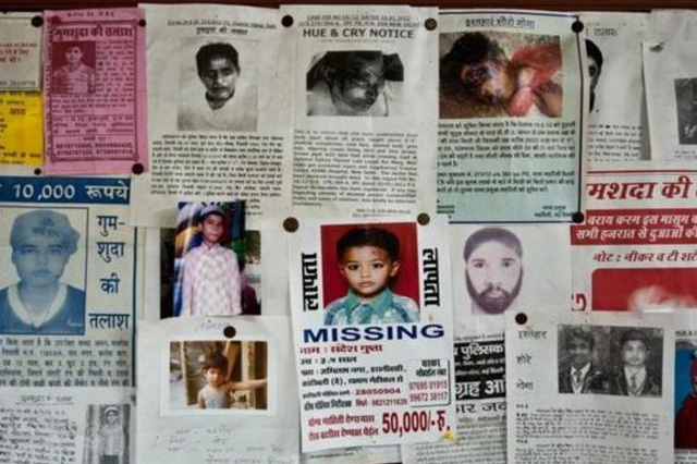 About Missing Children in India