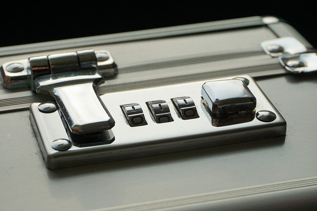 Luggage with Lock