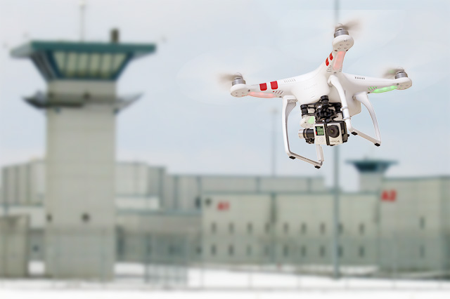Prisoners Try to Escape Using Drones