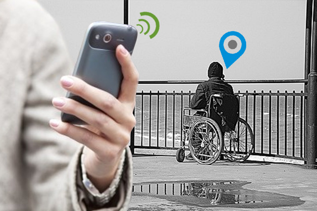 GPS Tracking Device for Disabled Love Ones
