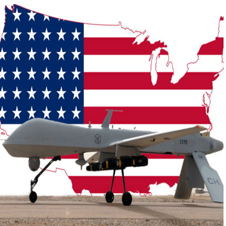 Vanishing of American Drones