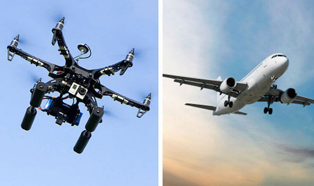 Drone Collisions with Aircraft