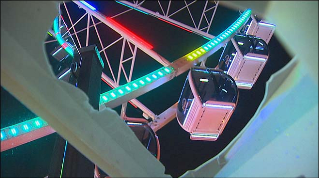 Drone Crashes into Seattle Ferris Wheel