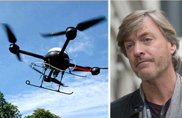 Intruders Spying Using Drones