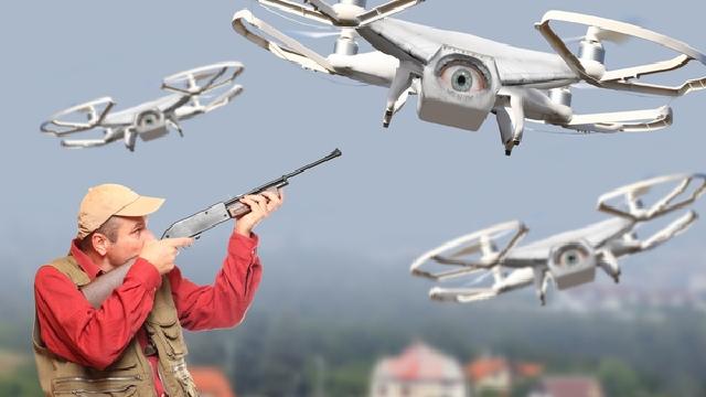 Drone Shot Down