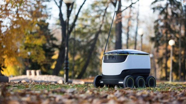 Self-Driving Delivery Drones