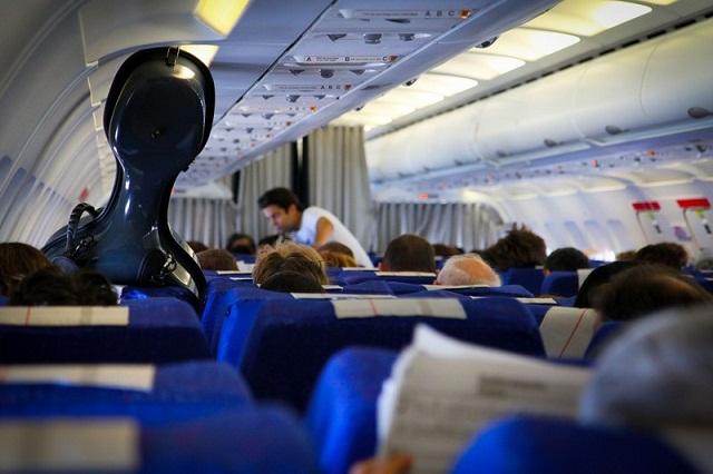 Cello on a Plane