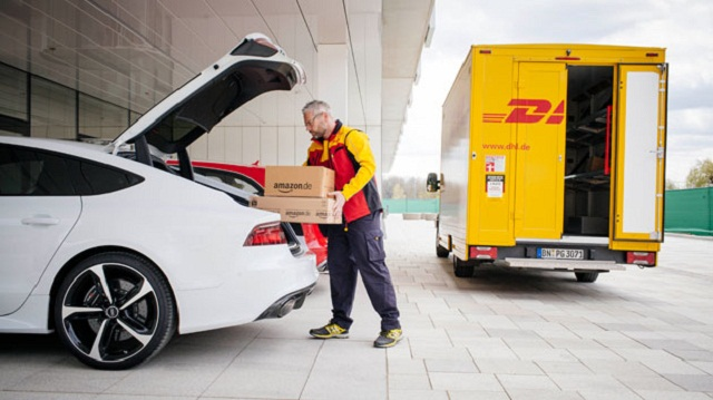 Deliver Items to Your Car Trunk