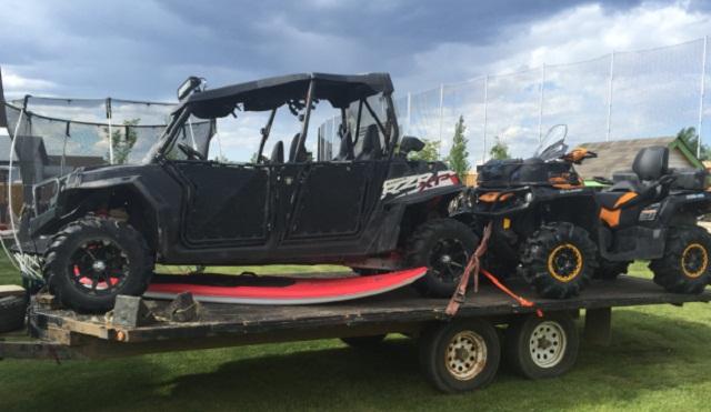 Stolen ATV in Fort McMurray