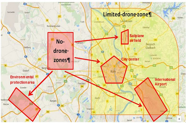DJI No Fly Zones UK