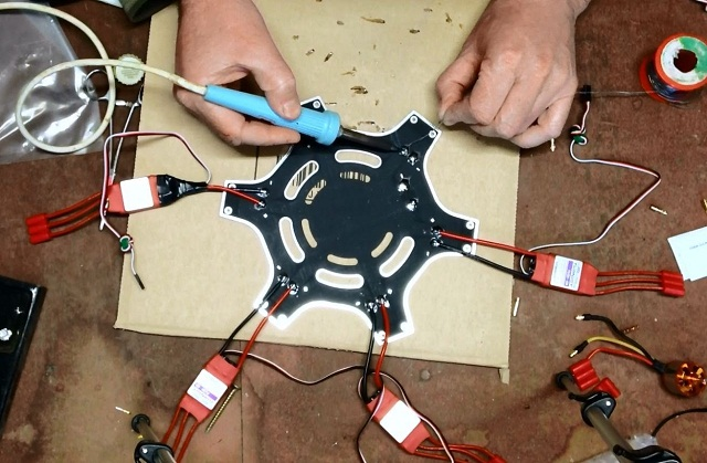 Hexacopter Assembly
