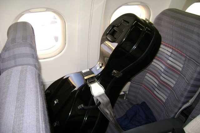 Musical Instrument in a Plane