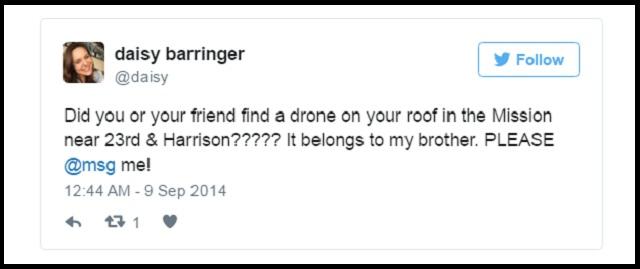 Lost Drone