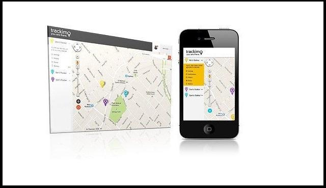 Tracker in phone