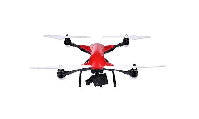 Muzeli Foldable Aerial Quadcopter Drone