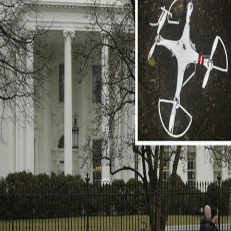 Drone Crash-Lands on the White House Lawn
