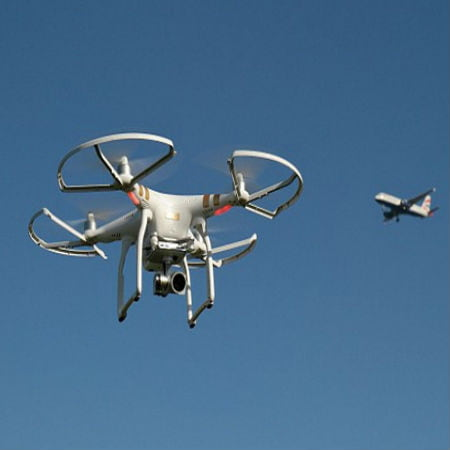 Drone Smash Risk to Aircraft