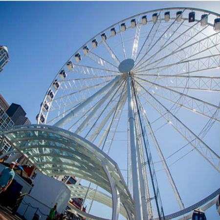 Drone Struck the Seattle Great Wheel and Dealt Heavy Damages