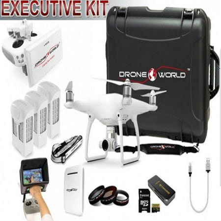 Drone World Releases Awaited Phantom 4 Executive Kit