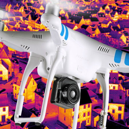 Drone with Infrared Eyes