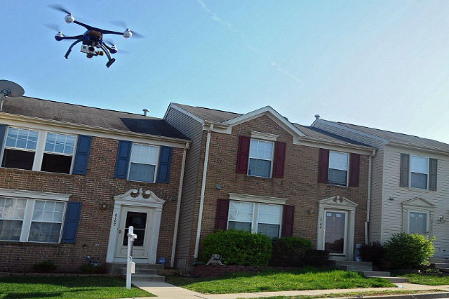 Drones Over your Property
