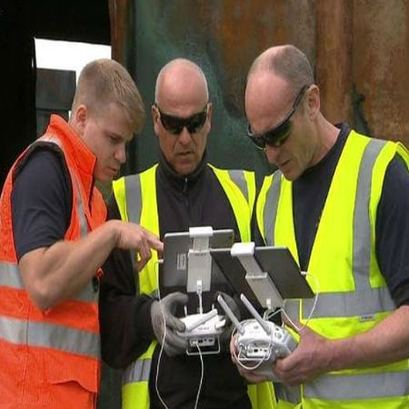 Drones Reduce the Risks for Emergency Workers