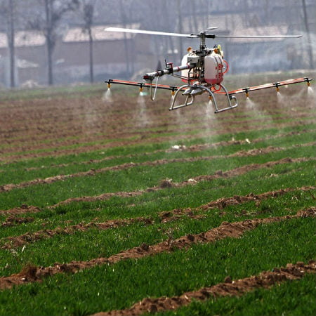 Drones helping Agriculture Business