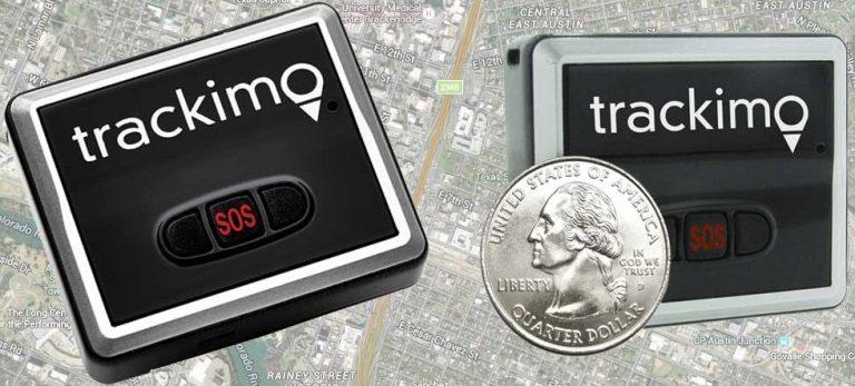 GPS Trackimo Size