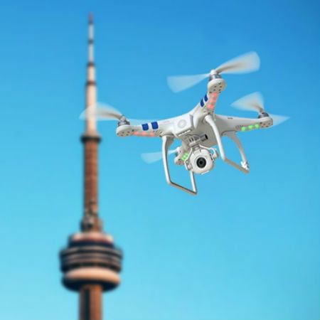 Lost Drone in Toronto