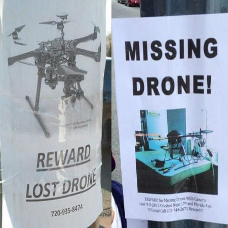 Flyers of Missing Drones