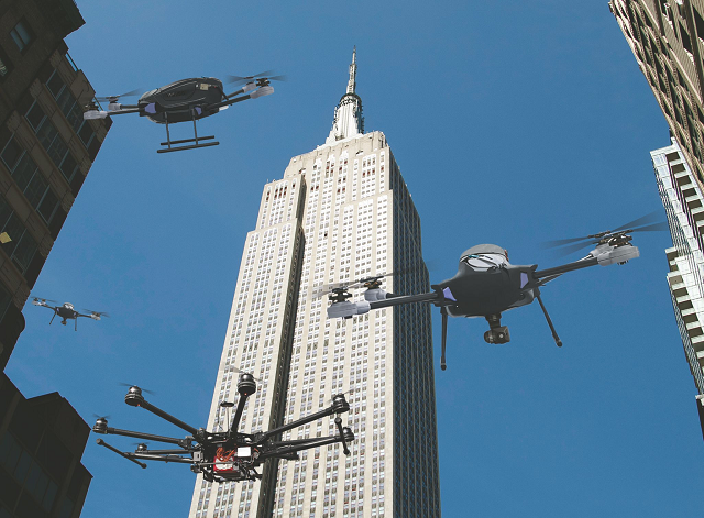 New York City Drones