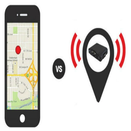 Phone GPS and GPS Tracker