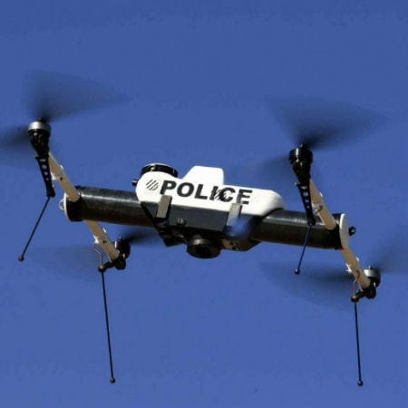 Police Arrangements Against Enemy Drones