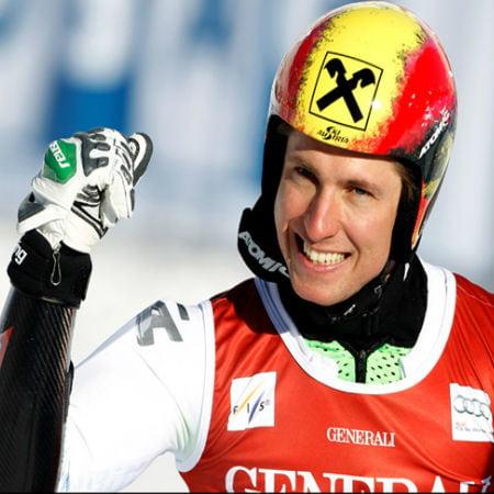 Skier Escapes A Crashing Drone