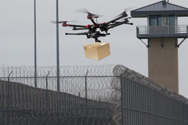 Drones to Transport Items into Prisons