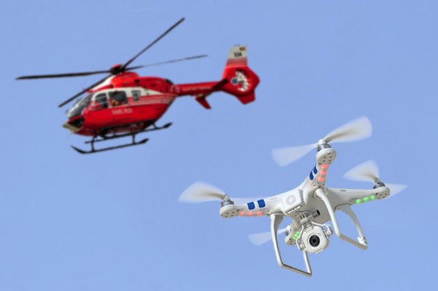 Drones Threat to Medical Helicopters