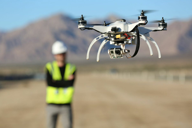 Drones on Construction Sites
