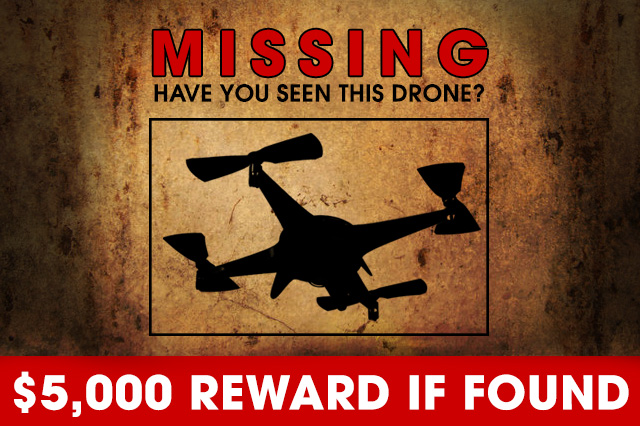 Missing Drone