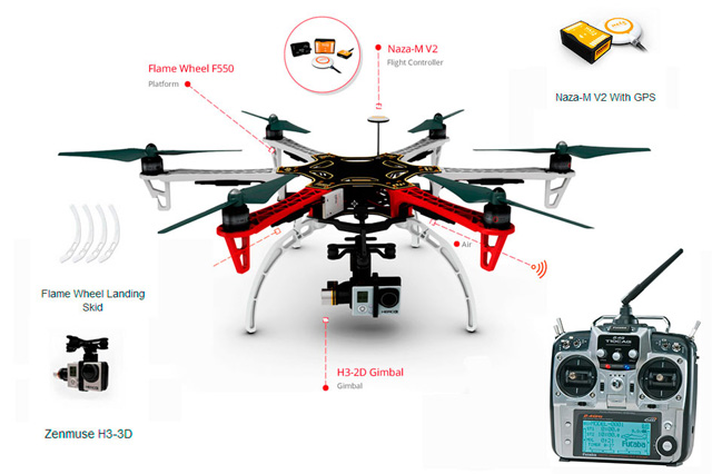 Hexacopter Parts