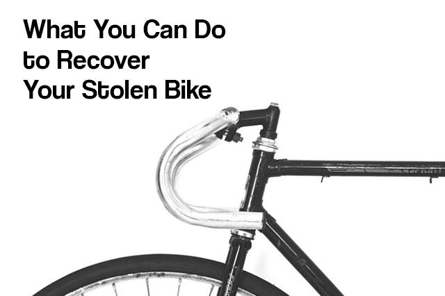 Recover Stolen Bike